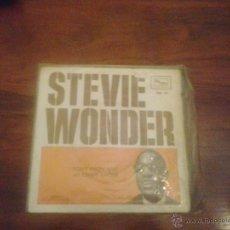 Discos de vinilo: STEVE WONDER. Lote 50641644