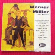 Discos de vinilo: WERNER MÜLLER Y SU ORQUESTA. Lote 50643703