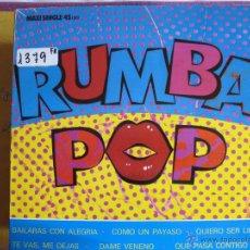Discos de vinilo: MAXI - RUMBA POP - LOS CLASICOS / QUE PASA CONTIGO TIO (SPAIN, POLYDOR 1989). Lote 50650520