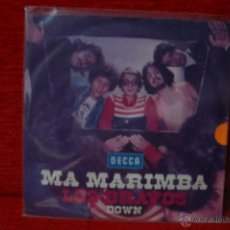 Discos de vinilo: LOS BRAVOS - MA MARIMBA - SINGLE ALEMANIA 1974. Lote 50655083