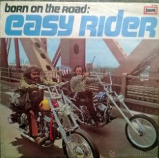 Discos de vinilo: VVAA. BORN ON THE ROAD: EASY RIDER (BSO). EUROPA, GERMANY 1970 LP. Lote 50656070