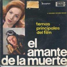 Discos de vinilo: EL AMANTE DE LA MUERTE / TEMA DE AMOR / OIGO UNA RAPSODIA + 2 (EP 1963). Lote 50661829