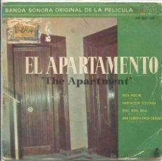 Discos de vinilo: EL APARTAMENTO (BSO) / FERANTE Y TEICHER / TEMA DEL APARTAMENTO / ESTA NOCHE + 3 (EP 1960). Lote 50661859