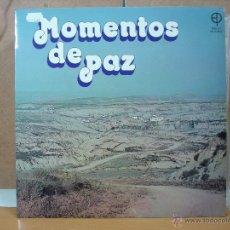 Discos de vinilo: COLECCIÓN COMPLETA MOMENTOS DE PAZ, DEL 1 AL 9 - EDICIONES PAULINAS - 1977-1987. Lote 54236139