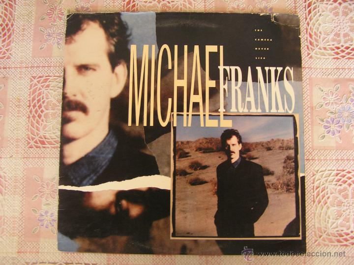 Discos de vinilo: MICHAEL FRANKS - FACE TO FACE - 1987 - Foto 1 - 50667141