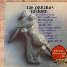 Discos de vinilo: LOS PANCHOS - LO DUDO -- 1972- IBL -. Lote 50667734