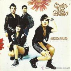 Discos de vinilo: GRETA Y LOS GARBO SG FONOMUSIC 1990 MENUDA FIESTA/ BAILARAS AQUI . Lote 50672912