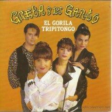 Discos de vinilo: GRETA Y LOS GARBO SG FONOMUSIC 1992 EL GORILA TRIPITONGO/ OH DIME . Lote 50672944