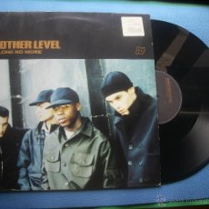 Discos de vinilo: ANOTHER LEVEL BE ALONE NO MORE MAXI EU 1998 PDELUXE. Lote 50674572
