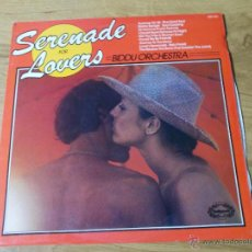 Discos de vinilo: SERENADE FOR LOVERS BIDDU ORCHESTRA. EDICION INGLESA. Lote 50675065