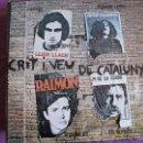 Discos de vinilo: LP - CRIT I VEU DE CATALUNYA - VARIOS (SPAIN, APOLO RECORDS 1976). Lote 50675797