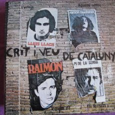 Discos de vinilo: LP - CRIT I VEU DE CATALUNYA - VARIOS (SPAIN, APOLO RECORDS 1976). Lote 50675797