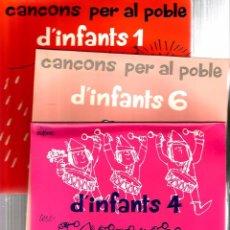 Discos de vinilo: 3 EP´S D´INFANTS ( CANÇONS PER AL POBLE ) 21 CANÇONS TRADICIONALS D´ARREU EL MÓN. Lote 50676780