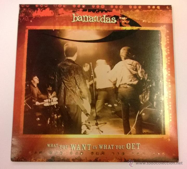 THE BARRACUDAS.WHAT YOU WANT IS WHAT YOU GET.SINGLE.2005.NDN RECORDS. (Música - Discos - Singles Vinilo - Pop - Rock Extranjero de los 90 a la actualidad)