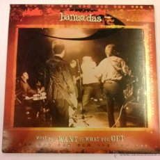Discos de vinilo: THE BARRACUDAS.WHAT YOU WANT IS WHAT YOU GET.SINGLE.2005.NDN RECORDS.. Lote 50685810