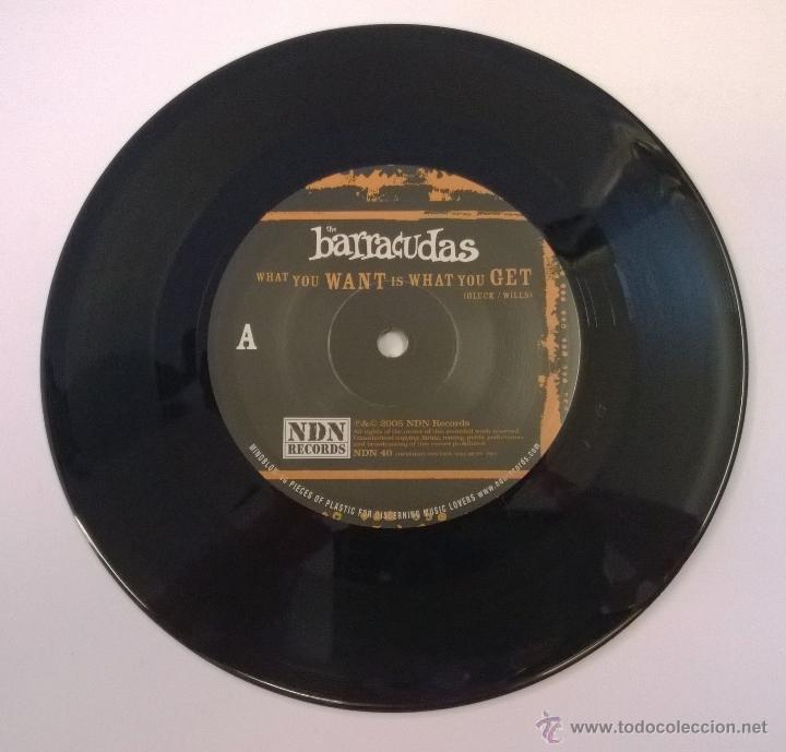 Discos de vinilo: The Barracudas.What you Want is What you Get.SINGLE.2005.NDN RECORDS. - Foto 3 - 50685810