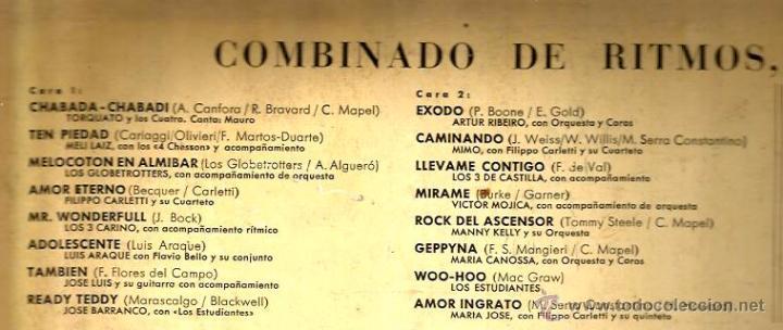 Discos de vinilo: LP EXITOS : LOS ESTUDIANTES, TORCUATO Y LOS CUATRO, MIMO, LOS 3 CARINO, LOS 3 DE CASTILLA, ETC - Foto 2 - 50686876