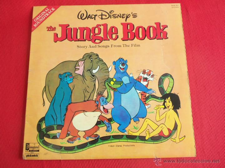 The Jungle Book Story And Songs From The Film Sold Through