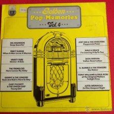 Discos de vinilo: GOLDEN POP-MEMORIES VOL.4. Lote 50688375