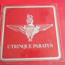 Discos de vinilo: THE BAND OF THE PARACHUTE REGIMENT - UTRINQUE PARATUS. Lote 50688542