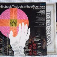 Discos de vinilo: DAVE BRUBECK '' THE LIGHT IN THE WILDERNESS '' 2 LP ORIGINAL USA 1968. Lote 50689659