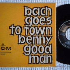Discos de vinilo: BENNY GOODMAN - '' BACH GOES TO TOWN '' EP SPAIN 1963 EXCELENTE. Lote 50690150