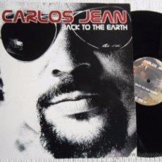 Discos de vinilo: CARLOS JEAN - '' BACK TO THE EARTH '' LP SPAIN 2003 NEAR MINT. Lote 50690520