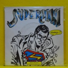 Discos de vinilo: SUPERMAN - SUPERMAN / DANCE UNDER THE MOONLIGHT - SINGLE. Lote 50691380