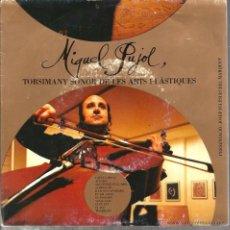 Discos de vinilo: SG MIQUEL PUJOL : TORSIMANY SONOR DE LES ARTS PLASTIQUES. Lote 50696080