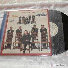 Discos de vinilo: MICKY Y LOS TONYS LP LO MEJOR -LA GALLINA /NO SE NADAR.....(1981) EDITA SERDISCO ..BUENA CONDICION. Lote 50700982