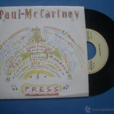 Discos de vinilo: PAUL MCCARTNEY PRESS SINGLE SPAIN 1983 PDELUXE. Lote 50704608