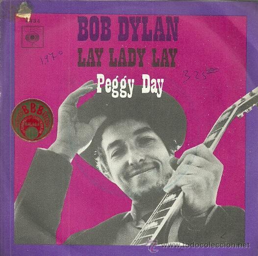 BOB DYLAN SINGLE SELLO CBS EDITADO EN ESPAÑA AÑO 1970 (Música - Discos - Singles Vinilo - Pop - Rock - Extranjero de los 70)