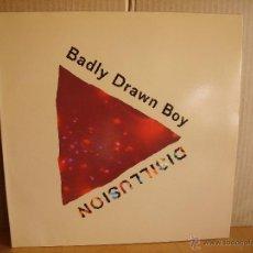 Discos de vinilo: BADLY DRAWN BOY ---- DISILLUSION -10 INCH. Lote 50711136