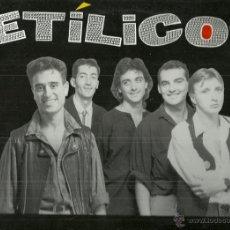 Discos de vinilo: ETILICOS LP SELLO CAMBAYA RECORDS AÑO 1989 EDITADO EN ESPAÑA . Lote 50711200