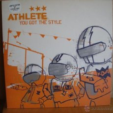 Discos de vinilo: ATHLETE ---- YOU GOT THE STYLE - 10 INCH. Lote 50711226