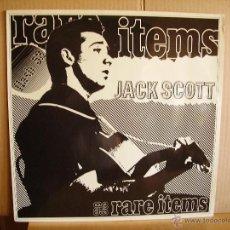 Discos de vinilo: JACK SCOTT ---- RARE ITEMS . Lote 50712277