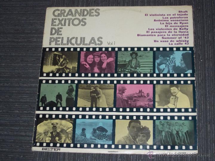 GRANDES EXITOS DE PELICULAS VOL.1 - BELTER MADE IN SPAIN - IBL - (Música - Discos - LP Vinilo - Bandas Sonoras y Música de Actores )