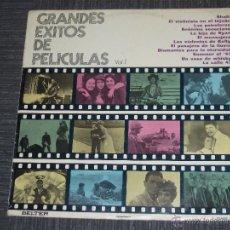 Discos de vinilo: GRANDES EXITOS DE PELICULAS VOL.1 - BELTER MADE IN SPAIN - IBL -. Lote 50725972