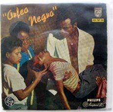 Discos de vinilo: ANTONIO CARLOS JOBIM & LUIZ BONFÁ - ORFEO NEGRO - EP PHILIPS 1959 BPY. Lote 50727310