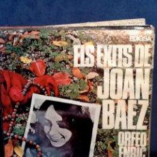 Vinyl records - ORFEÓ ENRIC MORERA - Els èxits de Joan Baez (Edigsa, 1967) EP - 50727796