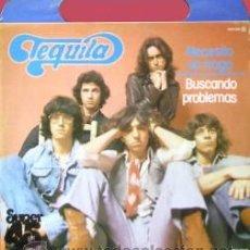 Discos de vinilo: TEQUILA - NECESITO UN TRAGO / BUSCANDO PROBLEMAS -(ESPAÑA-NOVOLA-1978) PORTADA CON ASA - MAXI LP . Lote 50728048