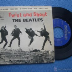 Discos de vinilo: THE BEATLES TWIST AND SHOUT + 3 EP SPAIN 1963 PDELUXE. Lote 50733520