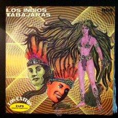 Discos de vinilo: LOS INDIOS TABAJARAS - DOBLE LP . Lote 50733796