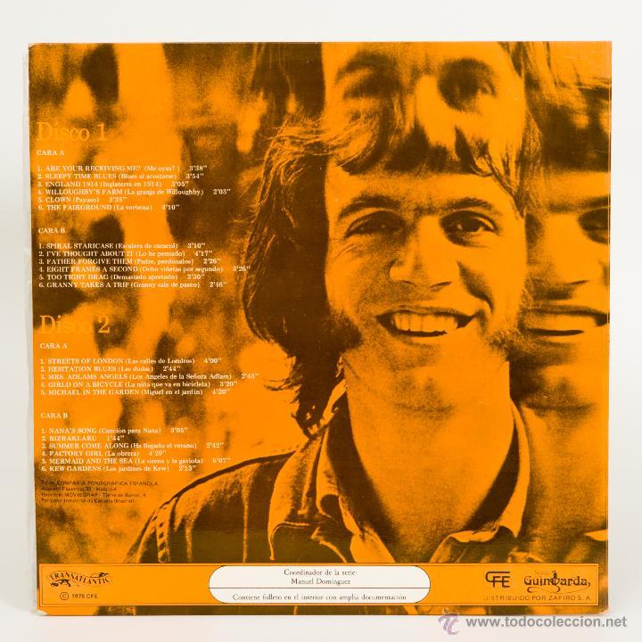 Discos de vinilo: RALPH MC TELL - DOBLE LP - GUIMBARDA - Foto 2 - 50734388
