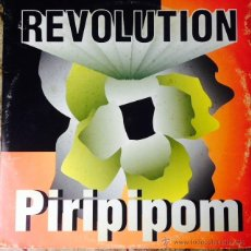Discos de vinilo: REVOLUTION - PIRIPIPOM . MAXI SINGLE . 1994 MD RECORDS . Lote 50739635