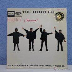Discos de vinilo: THE BEATLES - HELP! // EP // ORIGINAL 1965 // VINILO A ESTRENAR. Lote 50740225