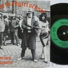 Discos de vinilo: GIRLSCHOOL & MOTORHEAD - SAN VALENTINES DAY MASSACRE 80, RARO EP 3 TEMAS 1ª EDIC UK, 1º PRESS, EXC. Lote 50744274