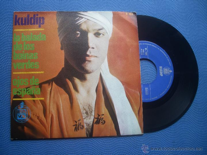 KULDIP LA BALADA DE LOS BOINAS VERDES SINGLE SPAIN1966 PDELUXE (Música - Discos - Singles Vinilo - Pop - Rock Extranjero de los 50 y 60)