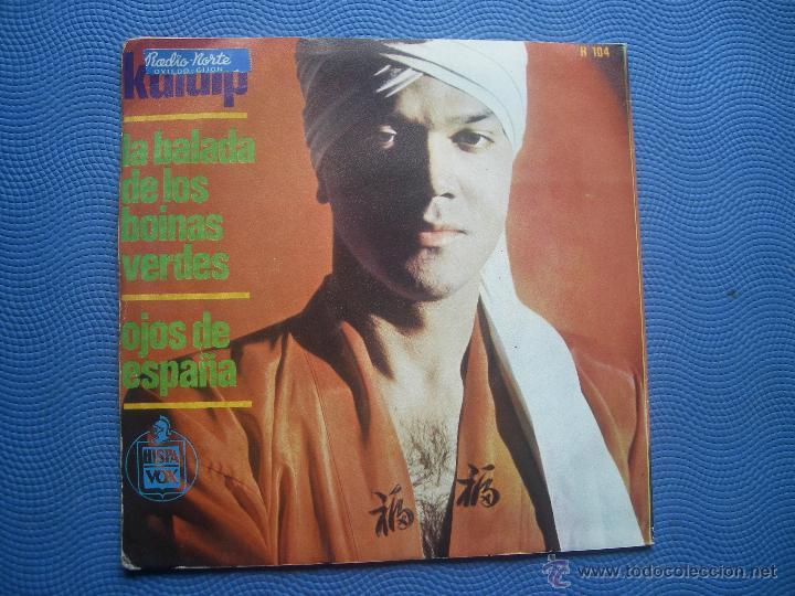 Discos de vinilo: KULDIP LA BALADA DE LOS BOINAS VERDES SINGLE SPAIN1966 PDELUXE - Foto 2 - 50756787