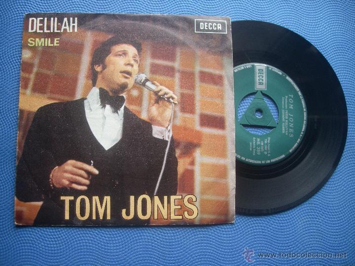 TOM JONES DELILAH SINGLE SPAIN 1967 PDELUXE (Música - Discos - Singles Vinilo - Pop - Rock Extranjero de los 50 y 60)